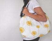 Everyday Tote in Dandelion and Gray