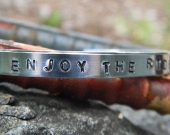 Enjoy The Ride, fantasic silver bracelet