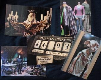Harry Potter studio postcards - Set of 5