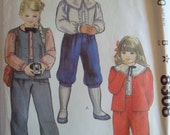 McCalls Sewing Pattern Childrens Jacket Vest Blouse Pants Knickers