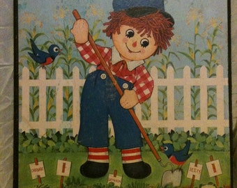 Raggedy Andy Wall Hanging