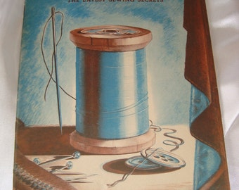 Vintage Instructional Sewing Booklet