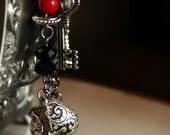 My Sweet Valentine Heart Charm Bracelet RESERVED