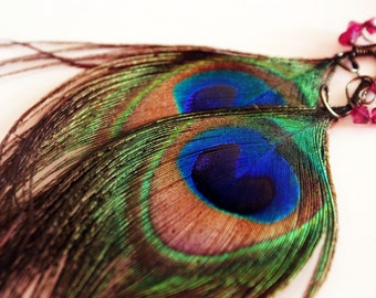 Peacock Pride Earrings