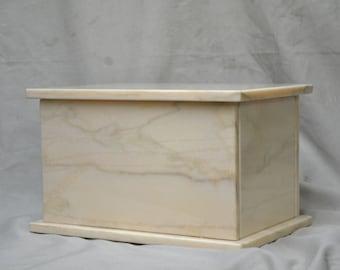 Pink Cremation Urn Marble