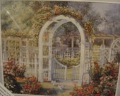 """Needle Treasures ColorArt Counted Cross Stitch """"Rose Gate"""""""