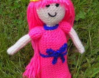 Crochet Princess Bubblegum Adventure Time - Made to Order