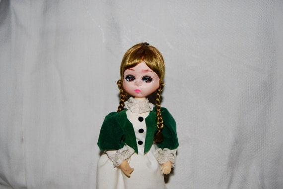 "Bradley Doll Vintage 8 Inches -"" Miss Stella"", made by Bradley Dolls, Los Angeles, California  1970s  Epsteam"