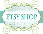 Premade 12 Piece Etsy Shop Set - Sea Grass
