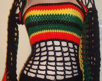 Bob Marley Colors - Hooded Shrug