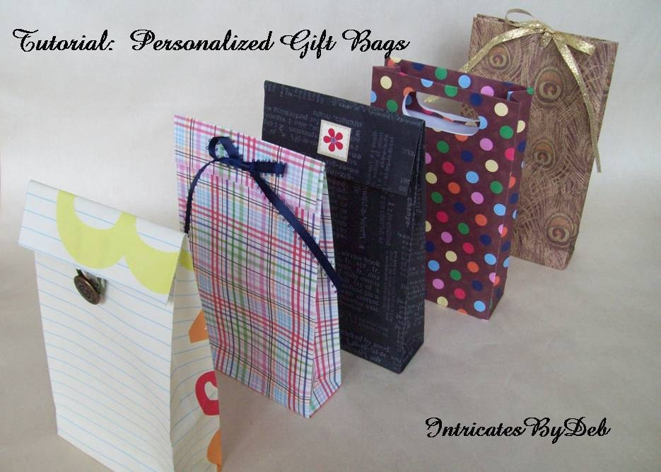 Digital Download Tutorial to Make Your Own Personalized Paper Gift ...