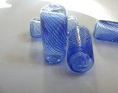 Glass Bead - FANCY - Blown Tube Beads
