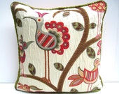 RESERVED FOR RUTH - Bird pillow, funky pillow, crazy old bird