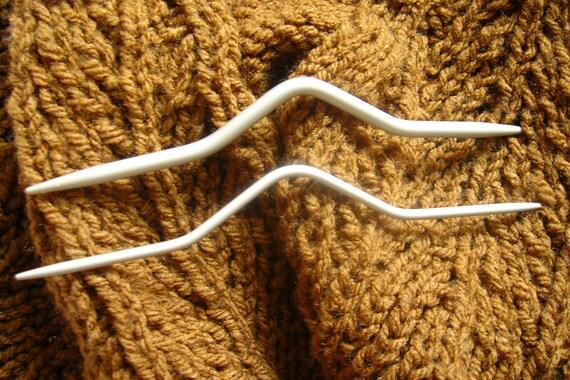 Cable Stitch Needles - Inox / PRYM - set of 2.