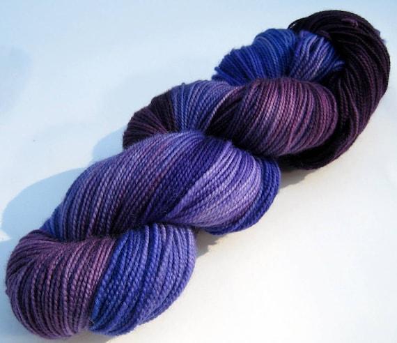 Twist - Superwash Merino Sock Yarn - Plum