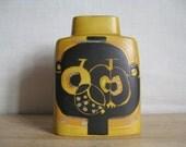 vintage Royal Copenhagen - Pillow Vase - 792/3121 - apple pattern