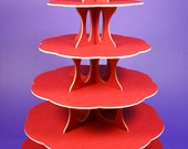 6 Tier Cup Cake Stand - 4 Colours available - Recyclable -
