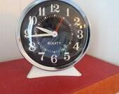 VINTAGE Wind Up ALARM CLOCK for bed side or table