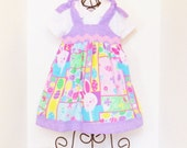 Girls BOUTIQUE EASTER DRESS Size 6mo to 5 Spring Clothes Baby Toddler 6mo 9mo 12mo 18mo 24mo 2T 3T 4T 5