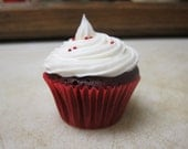 Mini Red Velvet Cupcakes with Cream Cheese Frosting