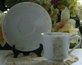 1984 Precious Moments Mother's Day  teacup and saucer set