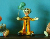 Vintage Paper Mache Clowns            Free Shipping US Only