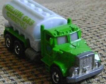 vintage diecast Hot Wheels tanker truck from 1979