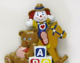 Raggedy Andy Wall Plaque by Burwood Products Co.