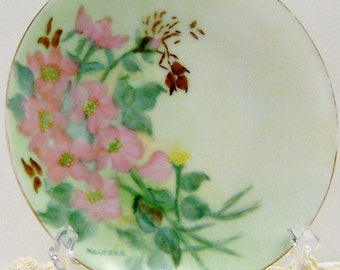 Hand Painted Plate by Meltzer
