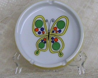 80s Mod Butterfly Ashtray