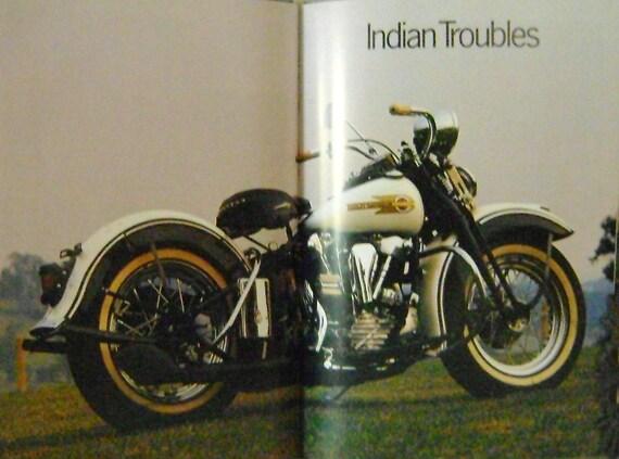 large hardbound book on Harley Davidson motorcycles