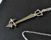Sleeping Lion - Kingdom Hearts Keyblade necklace