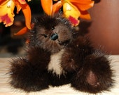 4 inch recycled mink bear