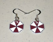 Umbrella Corporation Symbol - Resident Evil Earring Set