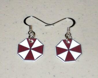Umbrella Corporation Symbol - Resident Evil Earring Set