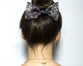 Sweet Floral Fiesta Hair Bow - small