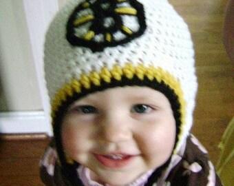 Boston Bruins earflap hat
