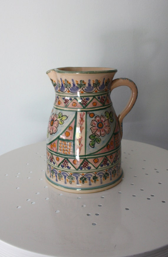 Large Toledo Sangria pitcher Made in Spain