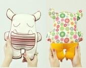 Munchy Monster Cushion