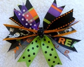 All Things Halloween Spikey Hair Bow