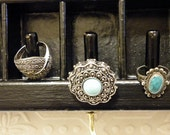 Re-purposed Printers Drawer Jewelry Display and Organizer