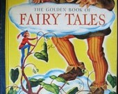 Vintage 1943 Golden Book of Fairy Tales a Little Golden Book In Very Good condition