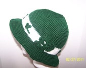 St Patrick's Day Crocheted Hat