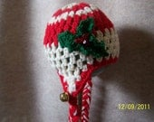 Christmas Braid Hat