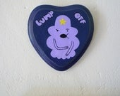 Lumpy Space Princess Painted Wooden Wall Hanging