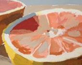 Grapefruit - original painting