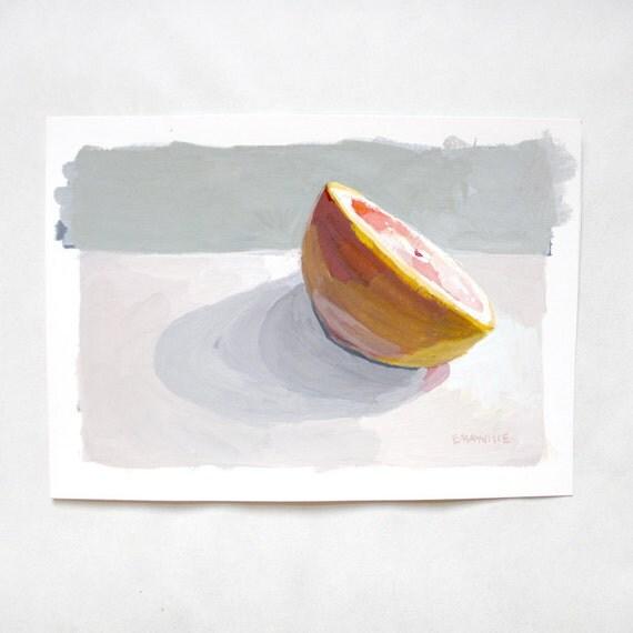 Grapefruit 3 -  original painting