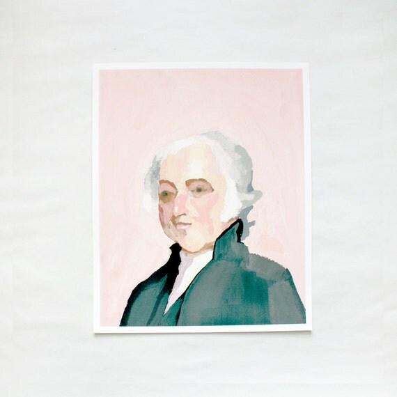 President John Adams - Giclee Print