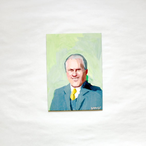 President Gerald Ford - Original Painting