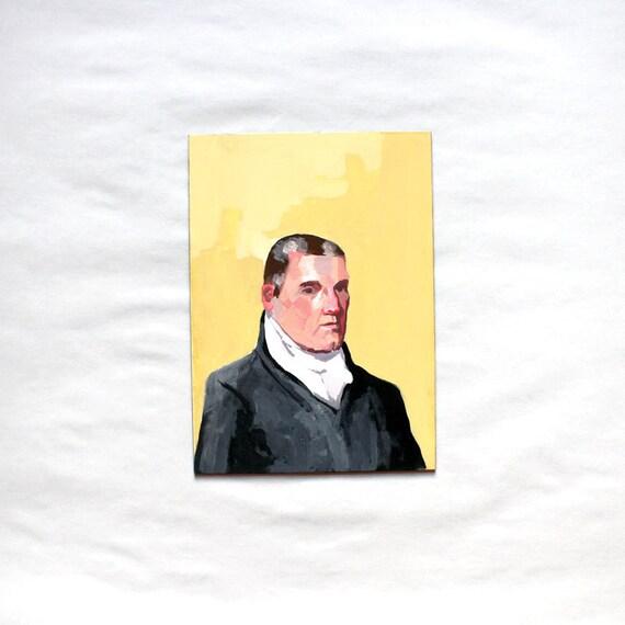 President James Monroe - Original Painting